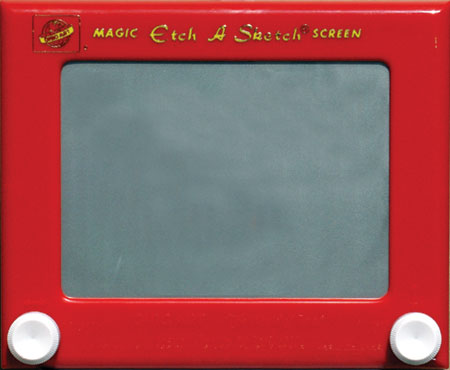 Etch-a-sketch-magic-screen