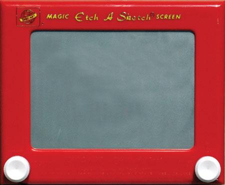 Etch-a-sketch-magic-screen